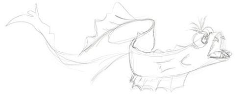 Sketch - Eel