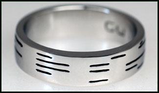 binary ring