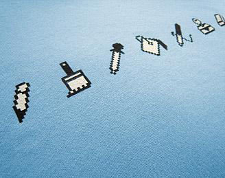 pixel tools tshirt