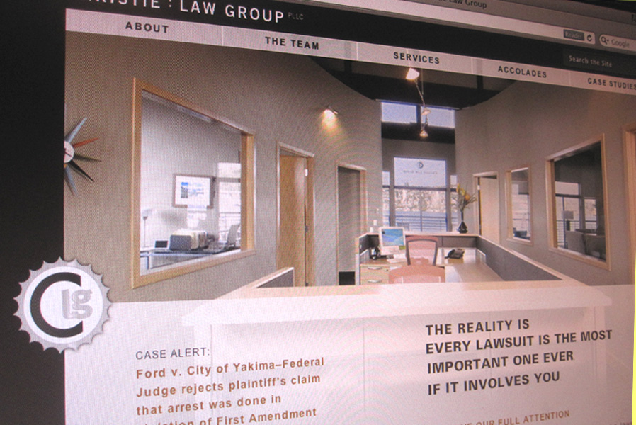 Christie Law Group Wordpress Website
