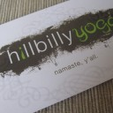 Hillbilly Yoga Logo Design &amp; Business Card