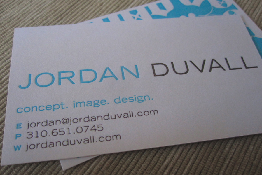 Jordan Duvall Photography Logo Design & Business Card