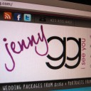 Jenny GG Photography Wordpress Website Design