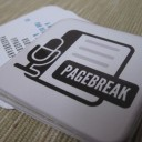 Pagebreak Podcast Business Card