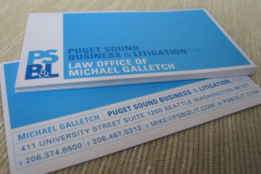 PSB&L Logo Design & Business Card