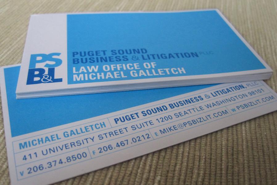 PSB&L Logo Design & Business Card