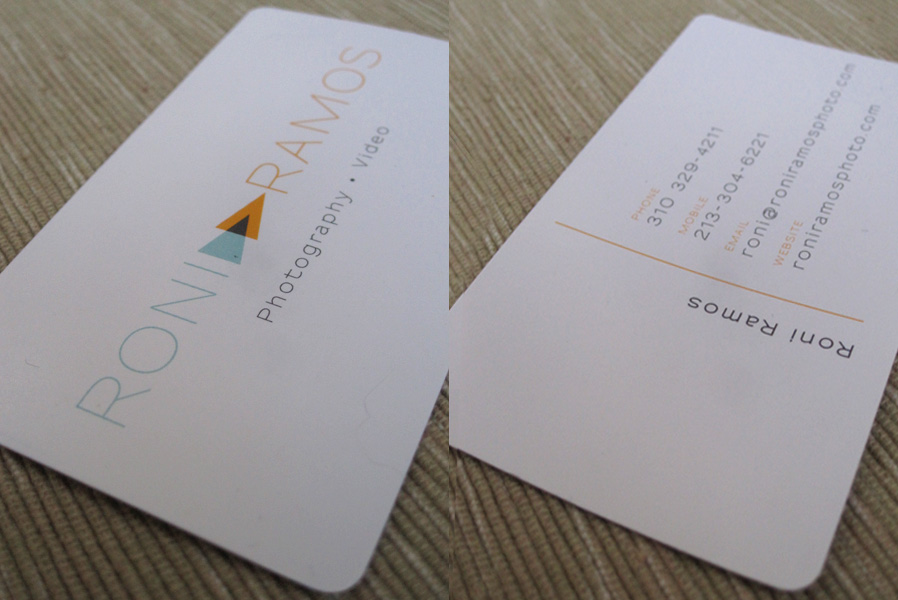 Roni Ramos Logo Design & Business Card