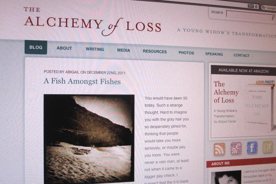 Alchemy of Loss Wordpress Blog