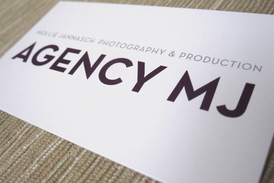 Agency MJ Logo Design