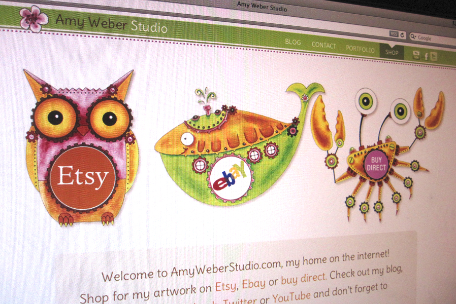 Amy Weber Wordpress Website