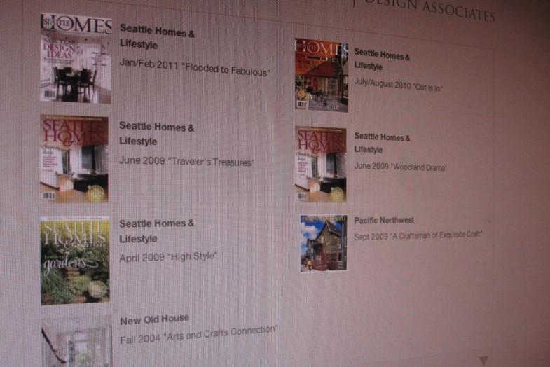 Hilary Young Design Associates WordPress Portfolio Website