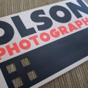 Olson Photographic Logo &amp; Business Card Design