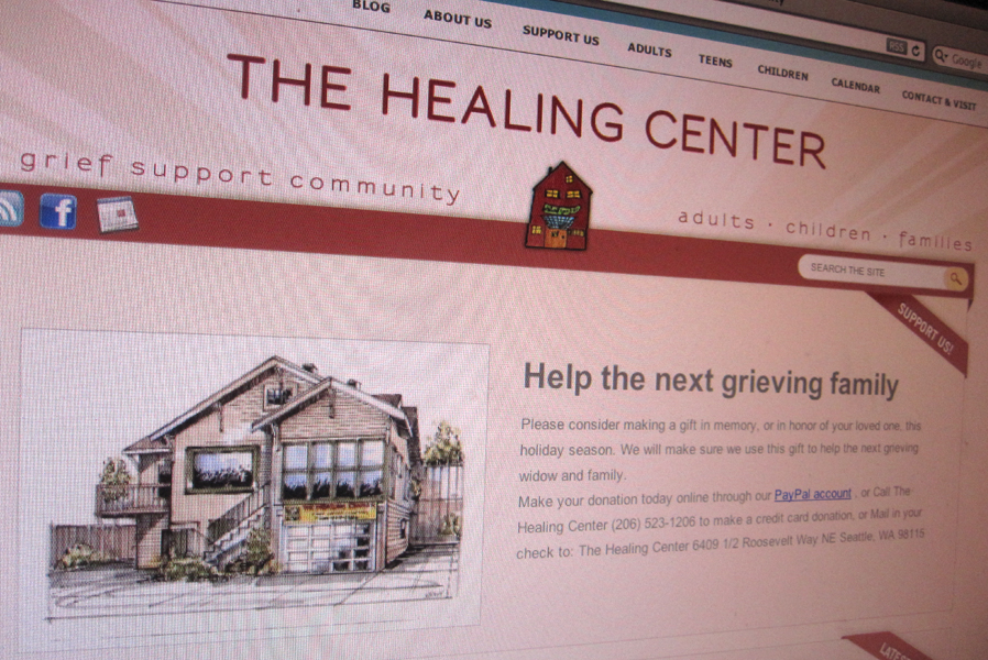 The Healing Center Wordpress Website