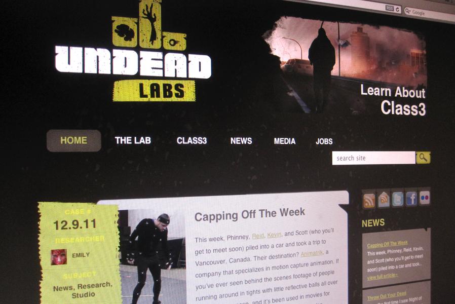 Undead Labs Wordpress Blog WebsIte